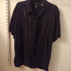Haggar washable linen shirt for men size XL